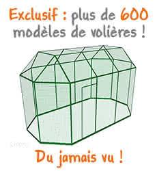 600 modèles de volières